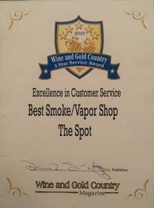 vape shop award
